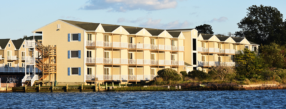 Waterside Hotel From the Water